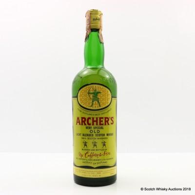 Archer's Light Blended Scotch Whisky 75cl