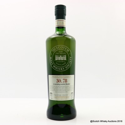 SMWS 30.78 Glenrothes 1989 23 Year Old