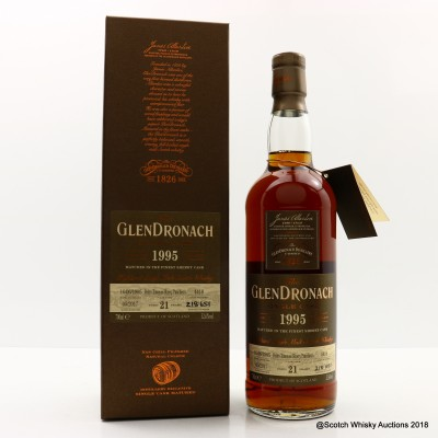 GlenDronach 1995 21 Year Old Single Cask #4418
