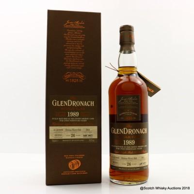GlenDronach 1989 26 Year Old Single Cask #2662