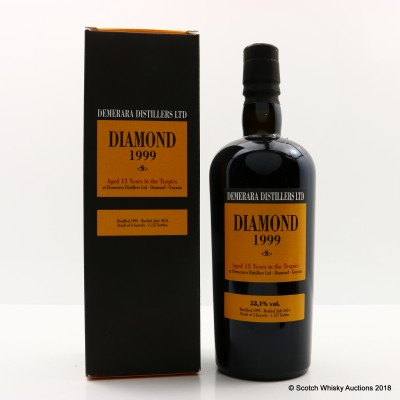 Diamond 1999 15 Year Old Demerara Rum