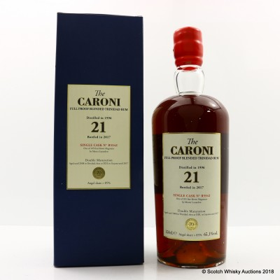 Caroni 1996 21 Year Old Single Cask #R5542 for 70th Anniversary of Velier 1.5L