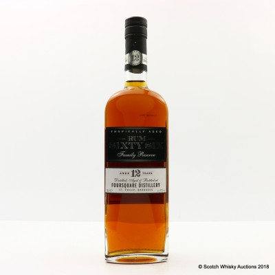 Foursquare 12 Year Old Rum Sixty Six