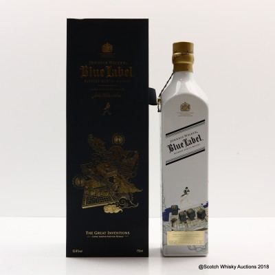 Johnnie Walker Blue Label Great Inventions 75cl