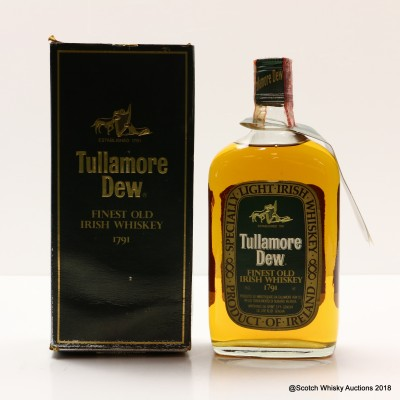 Tullamore Dew Finest Old Irish Whiskey 75cl