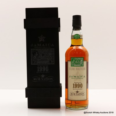 1990 23 Year Old Jamaican Rum Nation