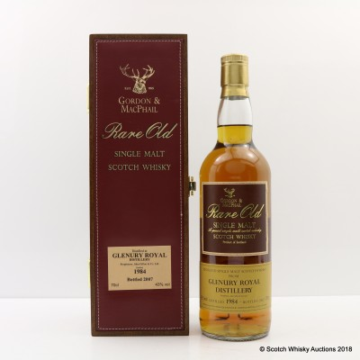 Glenury Royal 1984 Rare Old Gordon & MacPhail