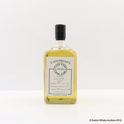 Glen Grant 1992 24 Year Old Cadenhead's Cask Ends