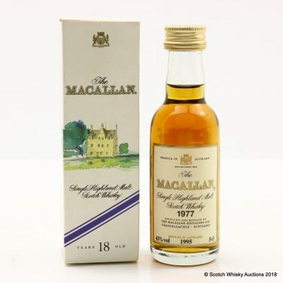 Macallan 1977 Mini 5cl