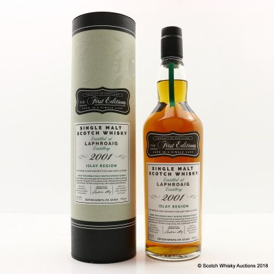 Laphroaig 2001 15 Year Old First Editions