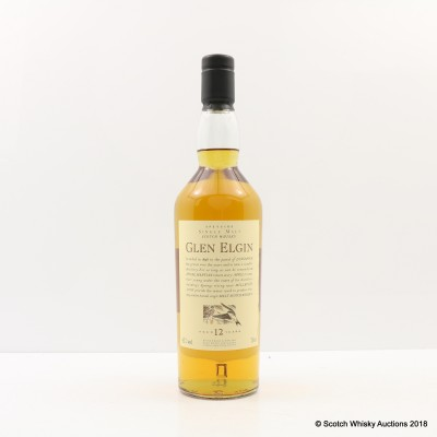 Flora & Fauna Glen Elgin 12 Year Old