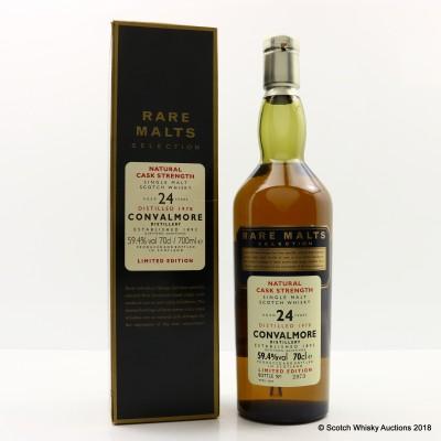 Rare Malts Convalmore 1978 24 Year Old