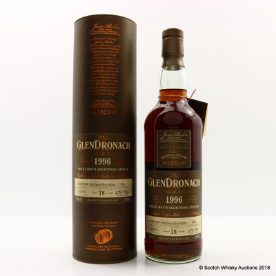 GlenDronach 1996 18 Year Old Single Cask #3831 Taiwan Exclusive