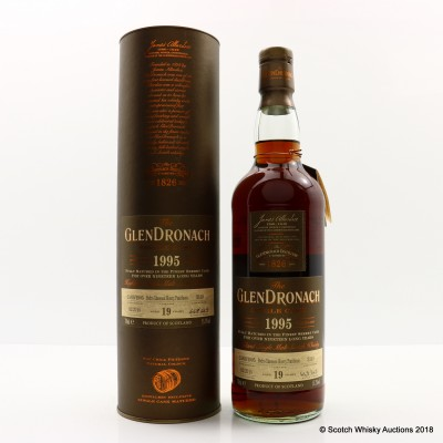GlenDronach 1995 19 Year Old Single Cask #3319