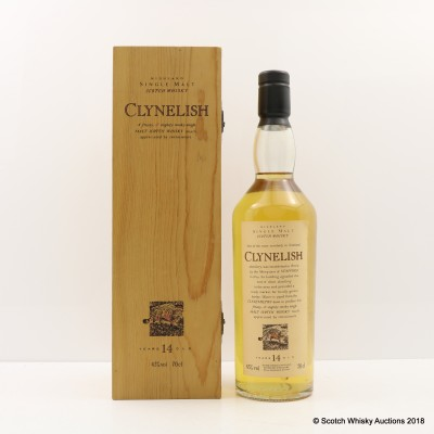 Flora & Fauna Clynelish 14 Year Old In Wooden Box