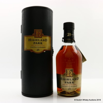 Highland Park 25 Year Old Dumpy Bottle