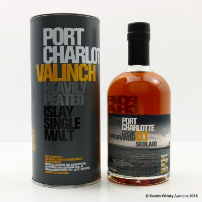 Port Charlotte Valinch 01 Cask Exploration Seolaid 50cl