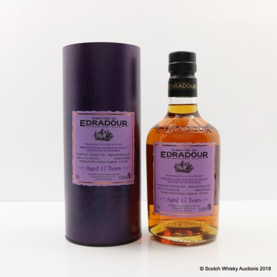 Edradour 1999 17 Year Old Bordeaux Cask Finish