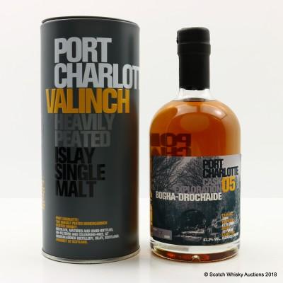 Port Charlotte Valinch 05 Cask Exploration Bogha-Drochaide 50cl