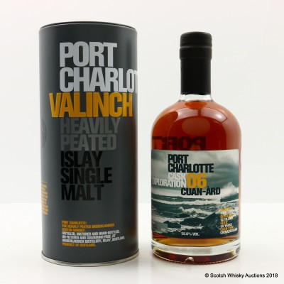 Port Charlotte Valinch 06 Cask Exploration Cuan-Ard 50cl