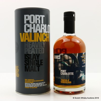 Port Charlotte Valinch 11 Cask Exploration Taigh A' Mhuilinn 50cl