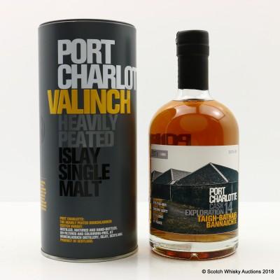 Port Charlotte Valinch 14 Cask Exploration Taigh-Bathair Bannaichte 50cl