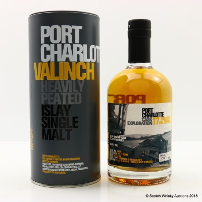 Port Charlotte Valinch 17 Cask Exploration Foghar An Eorna 50cl