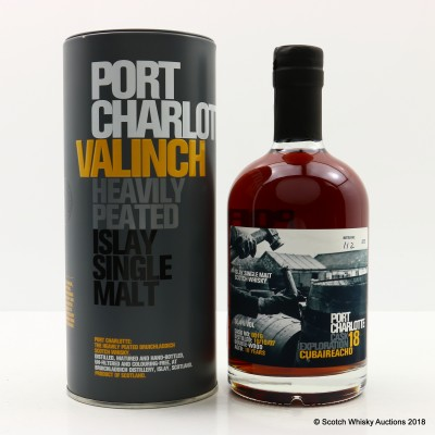 Port Charlotte Valinch 18 Cask Exploration Cubaireachd 50cl