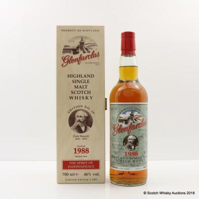 Glenfarclas 1988 Spirit Of Independence Edition #20 James Clerk Maxwell