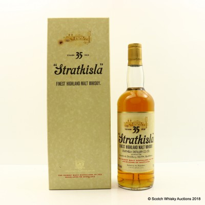 Strathisla 35 Year Old Bicentenary 75cl