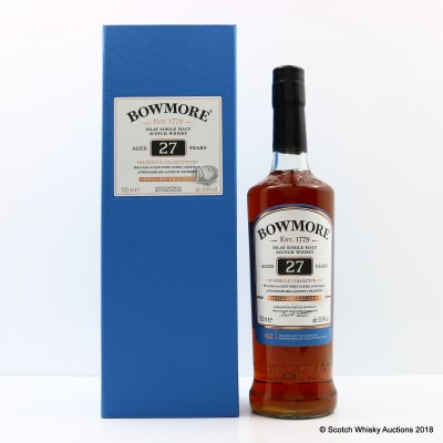 Bowmore Feis Ile 2017 27 Year Old Port Cask