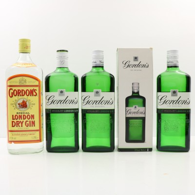 Gordon's Gin 3 x 70cl 1 x 1L