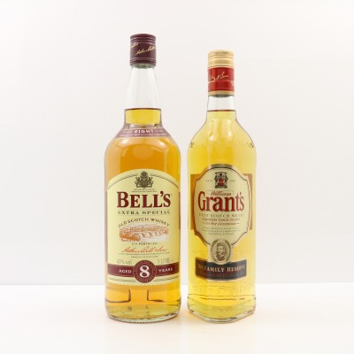 Grant's Family Reserve & Bell's 8 Year Old 1L