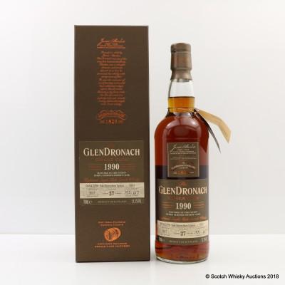 GlenDronach 1990 27 Year Old Single Cask #7003