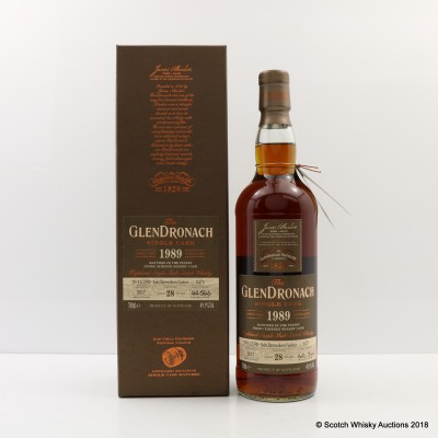 GlenDronach 1989 28 Year Old Single Cask #5476