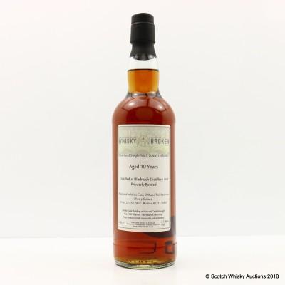 Bladnoch 2007 10 Year Old Whisky Broker