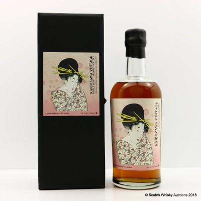 Karuizawa 1999 & 2000 Vintages Geisha La Maison du Whisky
