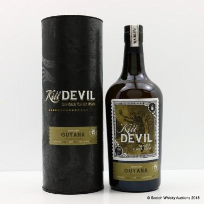 Uitvlugt 1999 15 Year Old Guyana Rum Kill Devil
