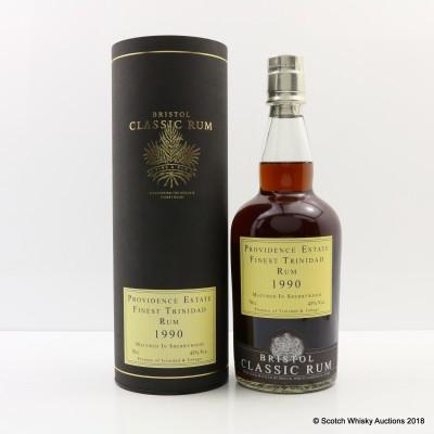 Providence Estate 1990 Trinidad Rum Bristol Classic Rum