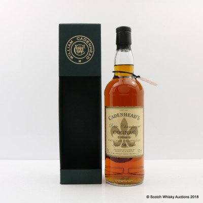 Distillerie Charpentier 50 Year Old Petite Champagne Cognac Cadenhead's