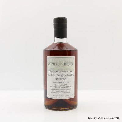 Springbank 1997 20 Year Old Whisky Broker