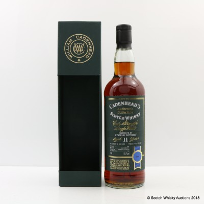 Bowmore 2003 11 Year Old Cadenhead's