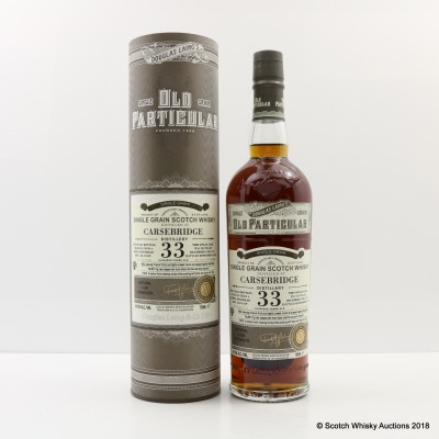 Carsebridge 1982 33 Year Old Old Particular