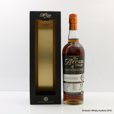 Arran 1996 17 Year Old Private Cask Whisky Exchange Exclusive