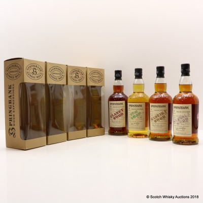 Springbank Woods Collection 4 x 70cl