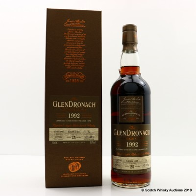GlenDronach 1992 25 Year Old Single Cask #52