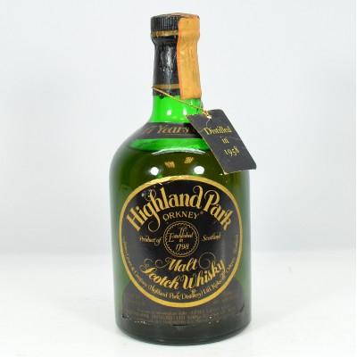 Highland Park 1958 17 Year Old Dumpy Bottle 75cl