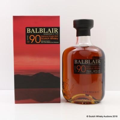 Balblair 1990 2nd Release