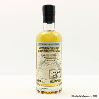 Boutique-Y Whisky Co Cambus 27 Year Old Batch #3 50cl