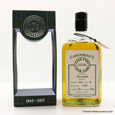 Bowmore 2000 16 Year Old Cadenhead's Cask Ends